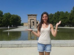 Au Pair Spain Veronica summer 2015