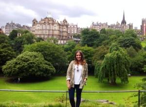 Paula F Au Pair Verano Reino Unido Edimburgo