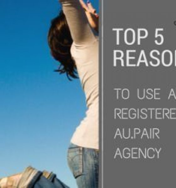 5 Reasons to use an IAPA registered au pair agency